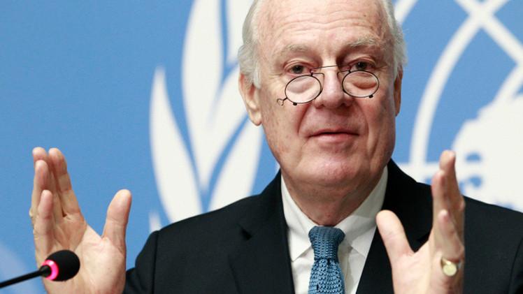 دي ميستورا: هناك اتفاق لحل أزمة سوريا هذا العام وأحداث باريس نتيجة لتلك الأزمة