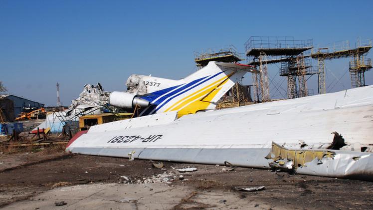 كييف تتحدث عن إرسال تعزيزات عسكرية إلى مطار دونيتسك