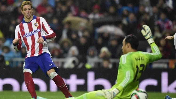 اتلتيكو مدريد يجرد الريال من اللقب الملكي