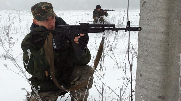 قوات الدفاع الشعبي تعلن سيطرتها على مطار دونيتسك