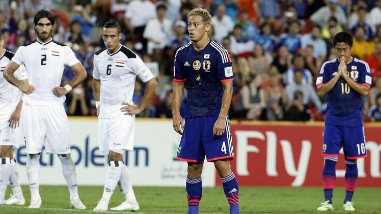الساموراي الياباني يروض أسود الرافدين في كأس آسيا