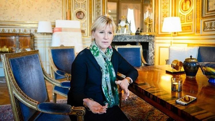 وزيرة خارجية السويد: إسرائيل تخطت كل الحدود وسياستها عدوانية للغاية