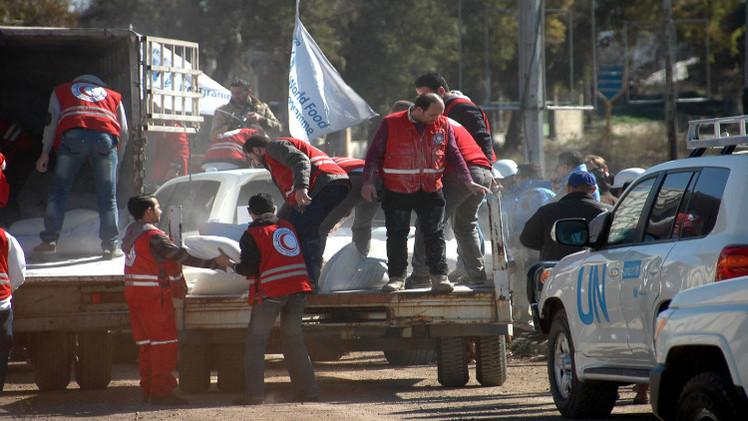 مهلة مؤقتة لـ10 أيام في حي الوعر الحمصي تسمح بدخول مساعدات أممية