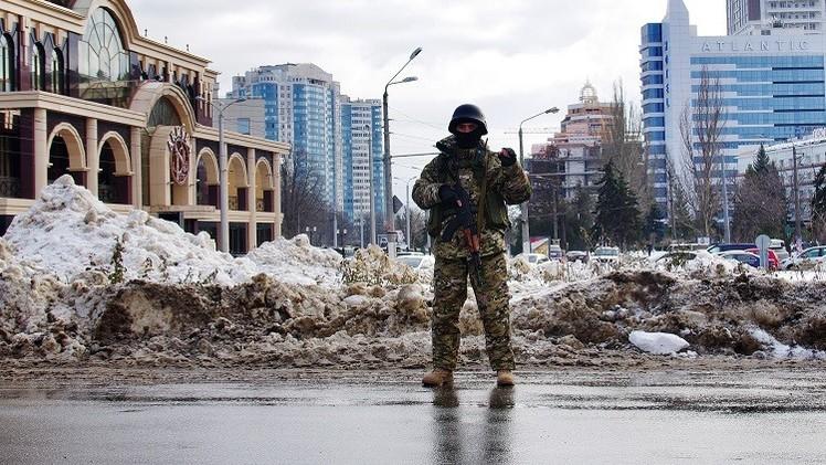 أوكرانيا.. 13 جريحا بانفجار قنبلة في خاركوف (فيديو)