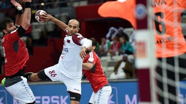 العنابي القطري يهزم تشيلي في مونديال كرة اليد