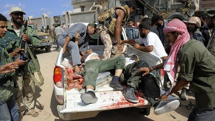 مصدر طبي: مقتل نحو 600 شخص خلال 3 أشهر في بنغازي