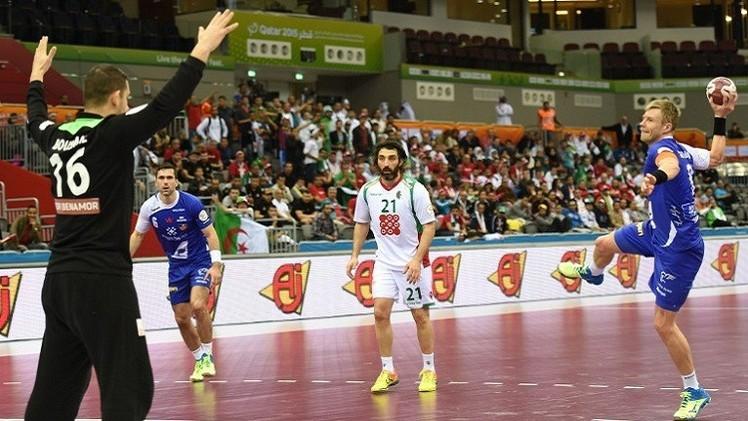 الجزائر تتعرض للهزيمة الثانية في مونديال كرة اليد