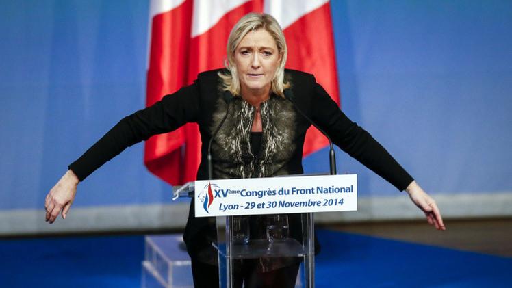 مارين لوبان: سياسة باريس غير المتسقة سبب العمليات الإرهابية الأخيرة في فرنسا