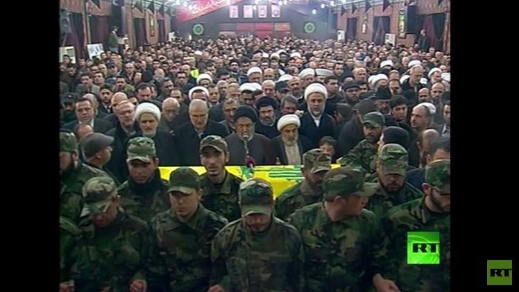 حزب الله يشيع جهاد مغنية.. وتأهب على حدود لبنان الجنوبية