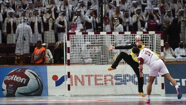 العنابي القطري يواصل انتصاراته في مونديال كرة اليد