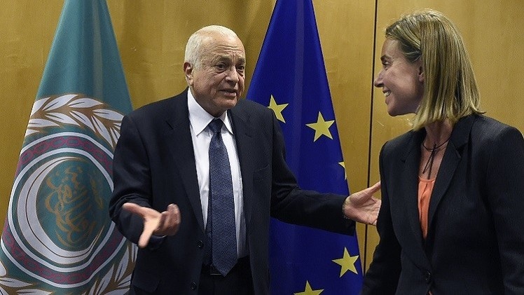توقيع وثيقة تعاون بين الاتحاد الأوروبي والجامعة العربية