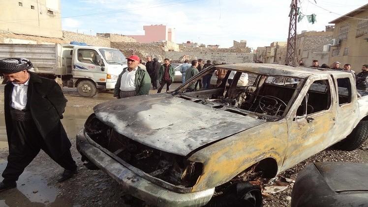 تفجير سيارة أحد ضباط الشرطة العسكرية بغزة