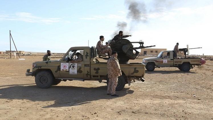 ليبيا.. تجدد القتال قرب ميناء السدرة النفطي