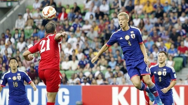 بالصور .. الساموراي الياباني يقصي نشامى الأردن من كأس آسيا