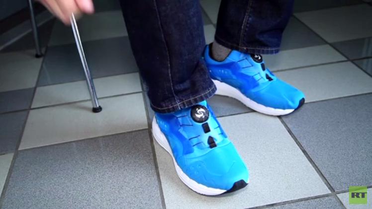 بالفيديو من ألمانيا.. حذاء لتوليد الطاقة الكهربائية من خطوات المشي