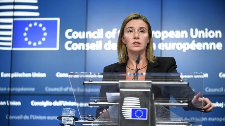 موغيريني: على الاتحاد الأوروبي التعاون مع روسيا لتسوية الوضع في سوريا والعراق