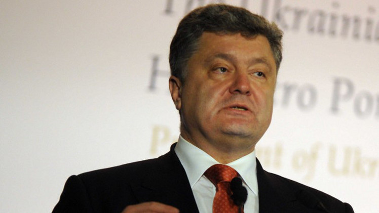 بوروشينكو: لا يمكن حل الأزمة الأوكرانية بالقوة