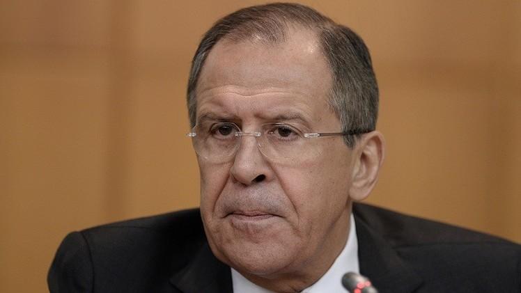 لافروف يطالب بوقف إطلاق النار في دونباس وينتقد عـدوانية واشـنطن