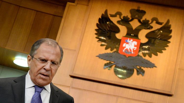 أهم ما جاء في المؤتمر الصحفي لوزير الخارجية الروسي