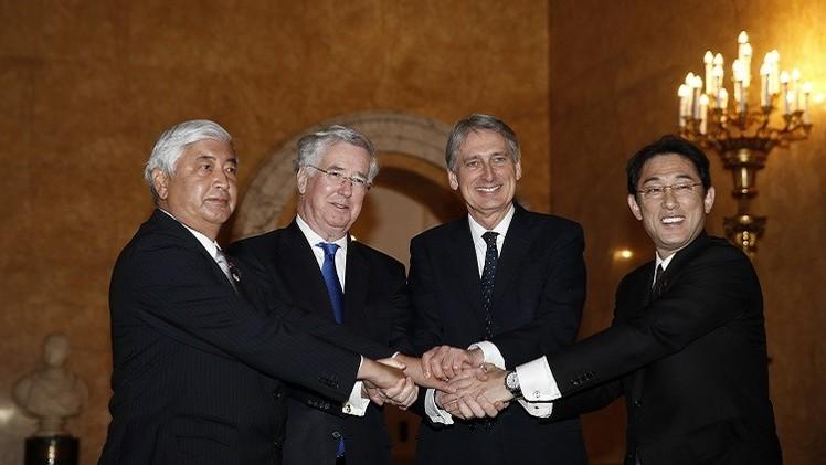 توافق بريطاني ياباني حول محاربة