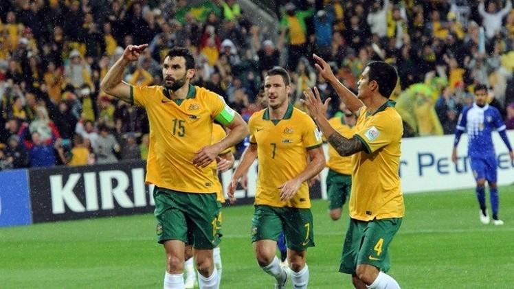 الكنغر الأسترالي والتنين الصيني في حلبة كأس آسيا