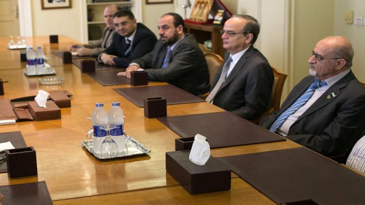 المعارضة السورية تجتمع في القاهرة بحثا عن موقف موحد