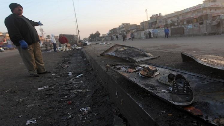 مقتل 9 وإصابة 13 شخصا بتفجير قرب بوابة معسكر التاجي في بغداد