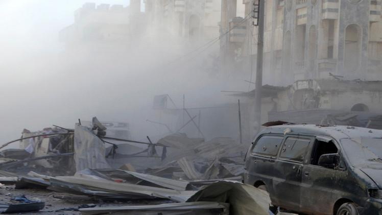 قصف في حمص يسفر عن قتلى وجرحى