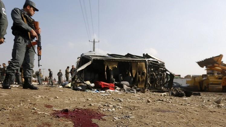 مقتل 3 وإصابة 18 أفغانيا في هجوم انتحاري