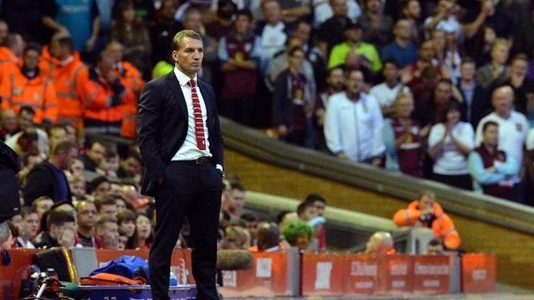 مدرب ليفربول رودجرز: لن نفوز بالدوري هذا الموسم