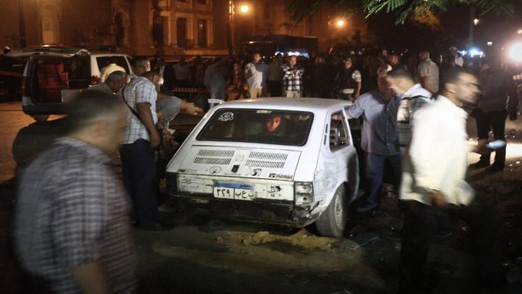 إصابة شخصين بانفجار قنبلة بمحيط القصر الرئاسي في القاهرة