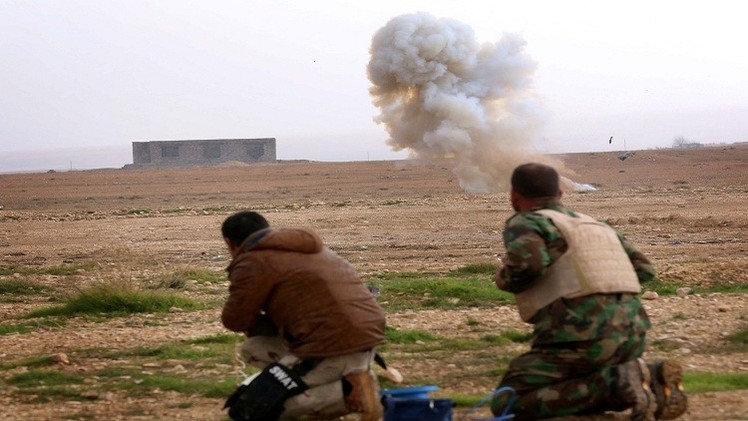 """داعش"" يقتل 7 بينهم صحفيان في قصف شمال شرق بغداد"