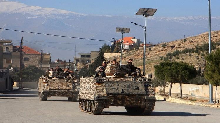 الجيش اللبناني يعلن مقتل 5  من جنوده في مواجهات مع متشددين