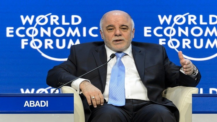 العبادي: إيران سارعت لمساعدتنا  في حرب