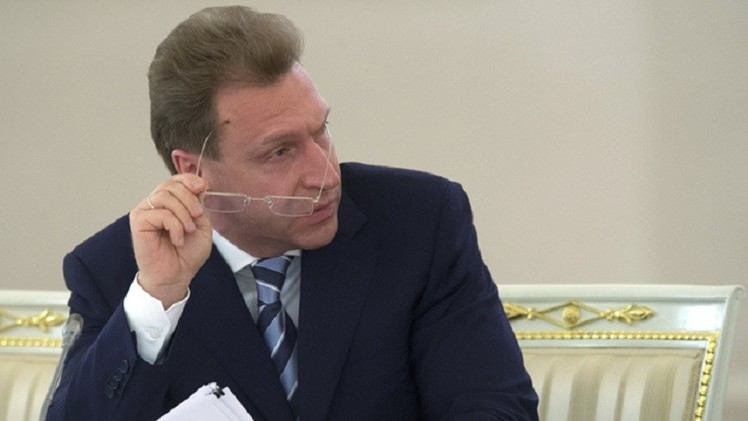 شوفالوف: خطة مواجهة الأزمة الاقتصادية تلحظ إمكانية هبوط سعر النفط
