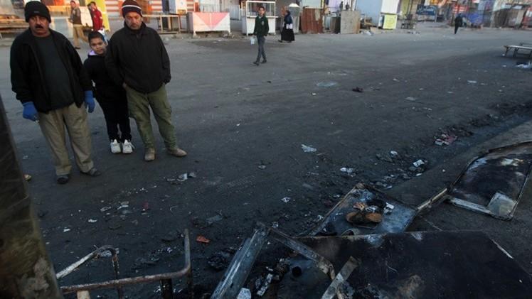 مقتل 8 أشخاص بتفجيرين في بغداد