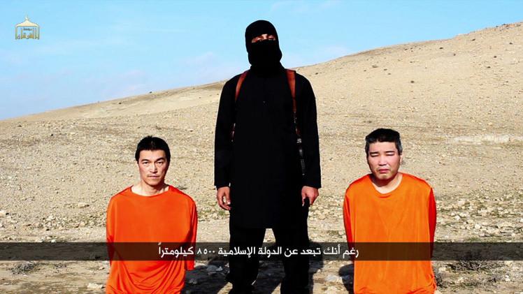 داعش يعلن إعدام أحد اليابانيين اللذين يحتجزهما