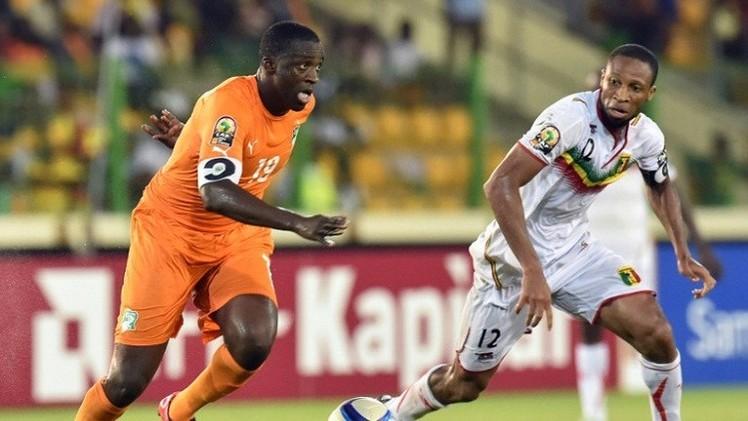 منتخب الفيلة العاجية ينتزع تعادلا مثيرا من نسور مالي في كأس إفريقيا