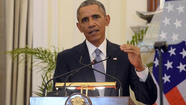 أوباما: لا نسعى إلى تدمير الاقتصاد الروسي