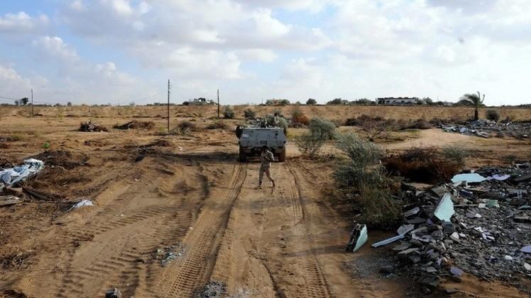السلطات المصرية تمدد حالة الطوارئ 3 أشهر إضافية شمال سيناء