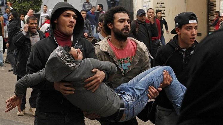 قتلى وجرحى في ذكرى ثورة 25 يناير بالقاهرة