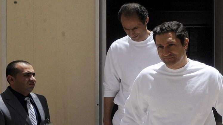 تأجيل إطلاق سراح جمال وعلاء مبارك