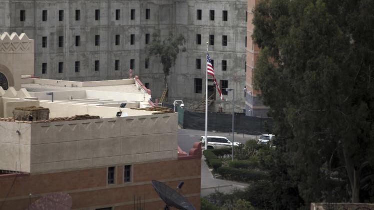 السفارة الأمريكية في صنعاء توقف عملها