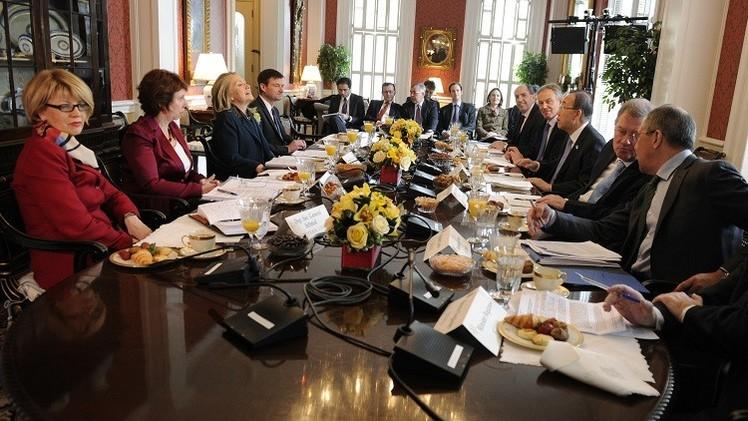 الرباعية الدولية تتفق على عقد اجتماع لاستئناف عملية السلام الفلسطينية الإسرائيلية
