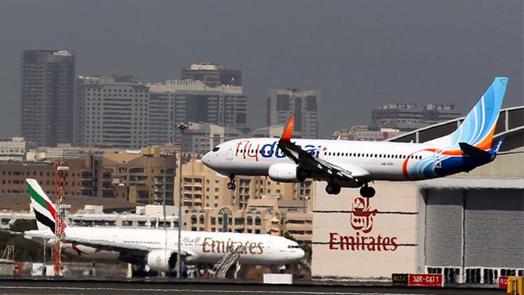 إطلاق نار على طائرة فلاي دبي.. وشركات إماراتية تعلق رحلاتها لبغداد