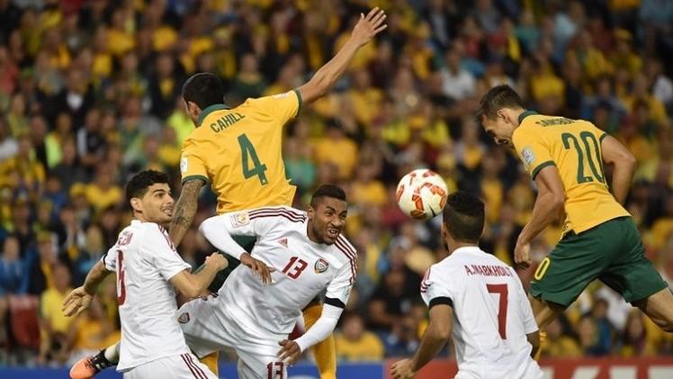 الكنغر الأسترالي ينهي مشوار الأبيض الإماراتي في كأس آسيا (فيديو)