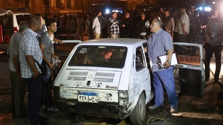 مقتل شخص وإصابة آخرين في انفجار سيارة بالاسكندرية