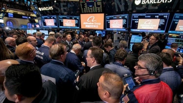 المؤشرات الأمريكية تهبط بعد صدور بيانات شركات ضعيفة