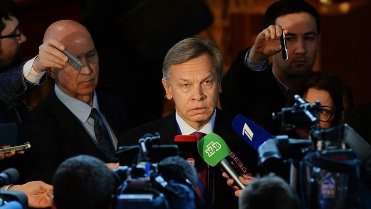 ماتفيينكو: التعاون حاليا مع الجمعية البرلمانية لمجلس أوروبا مضر وغير مقبول