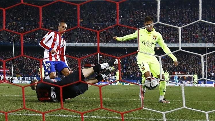 كأس إسبانيا .. برشلونة يهزم أتلتيكو مدريد في